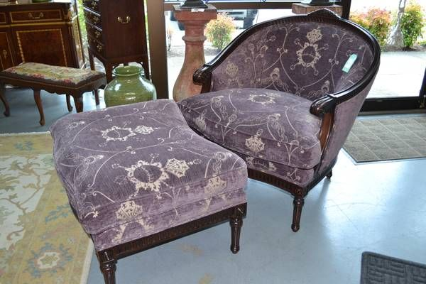 Ej Victor Beacon Chair And Ottoman 2195 Chair And Ottoman