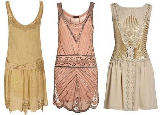 20s Inspired Bridesmaid Dresses