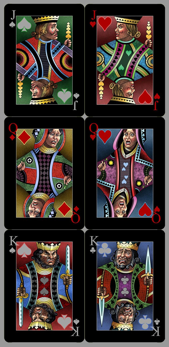 """""""EMOTIONS"""": Playing Cards Deck By Xtu Productions"""