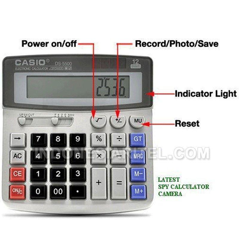 4GB Spy Calculator Hidden Camera AA00100003 (Dengan