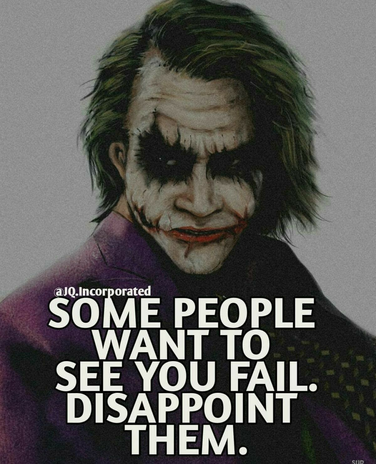 Joker Quotes Amusing Sadly It's Usually Family Joker  Pinterest  Joker Joker