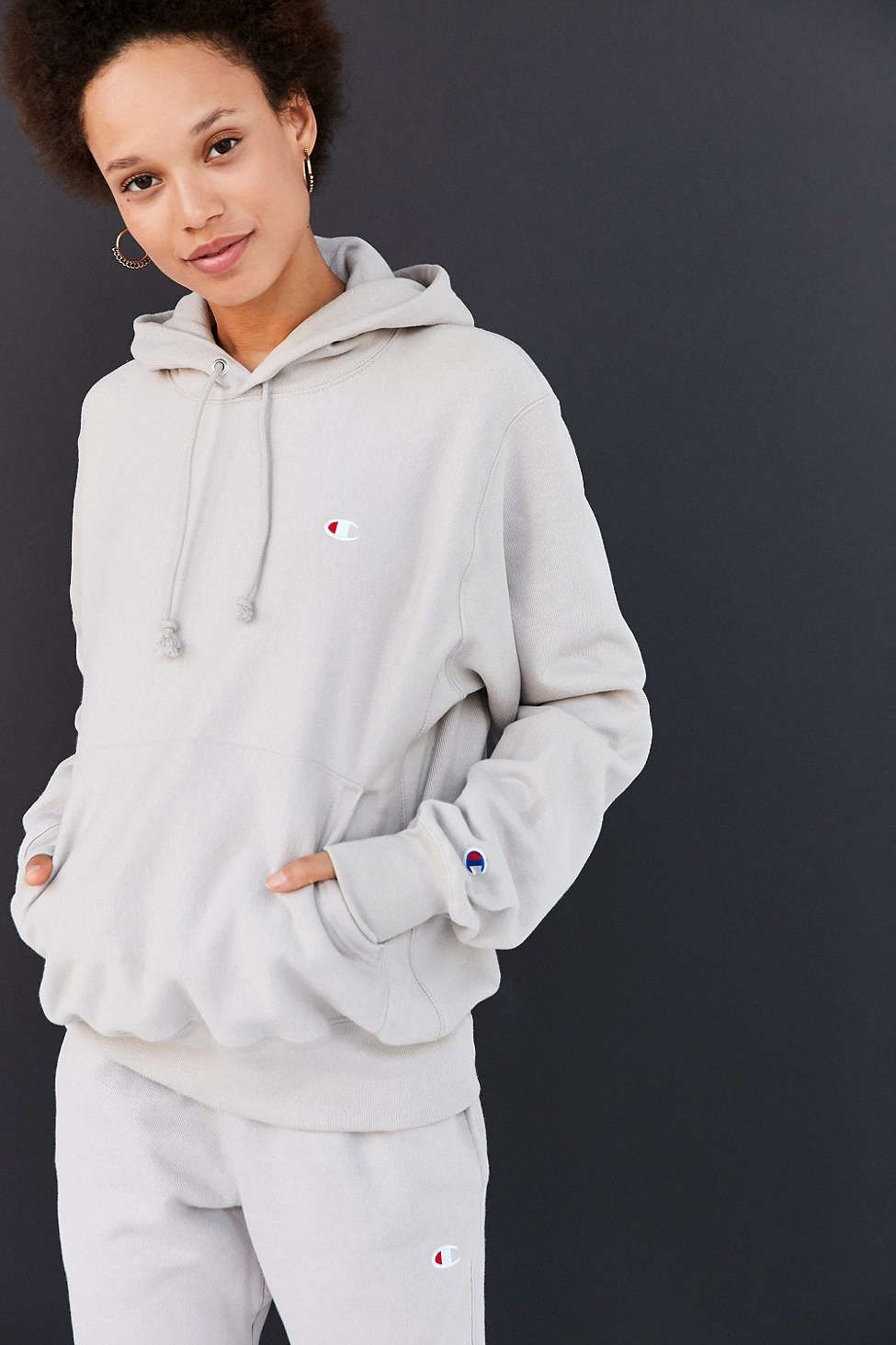 fbdc3bf1a937 Champion + UO Reverse Weave Hoodie Sweatshirt//Might want a crewneck  sweatshirt in this color instead.
