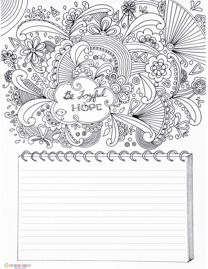 Free Gratitude Journal Template Plus Coloring Page Bible