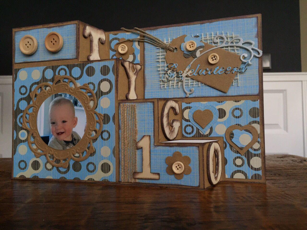Gemaakt voor Tygo's 1e verjaardag
