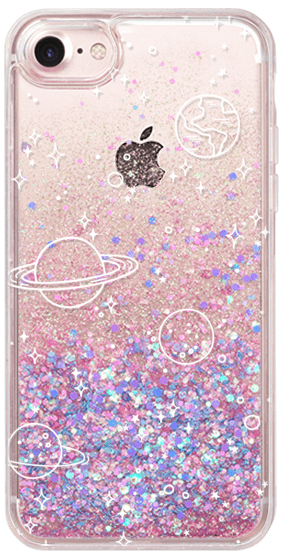 Cover iphone 7/iphone 8 Custodia iphone 7/iphone 8 Glitter in