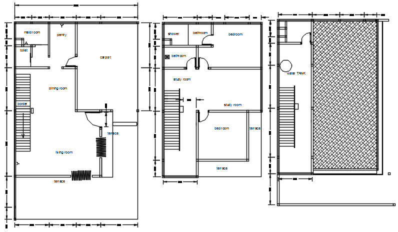 Electric layout plan of the house in dwg file in 2020
