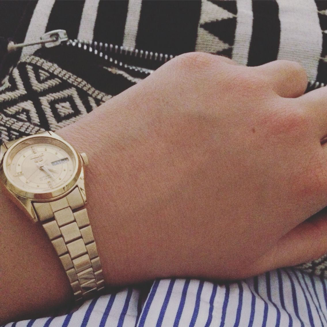 Watch Bag Girly Details