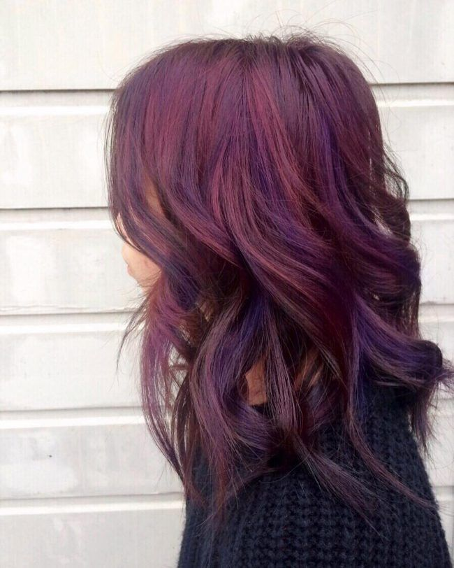 Dark Red Hair Color fo...