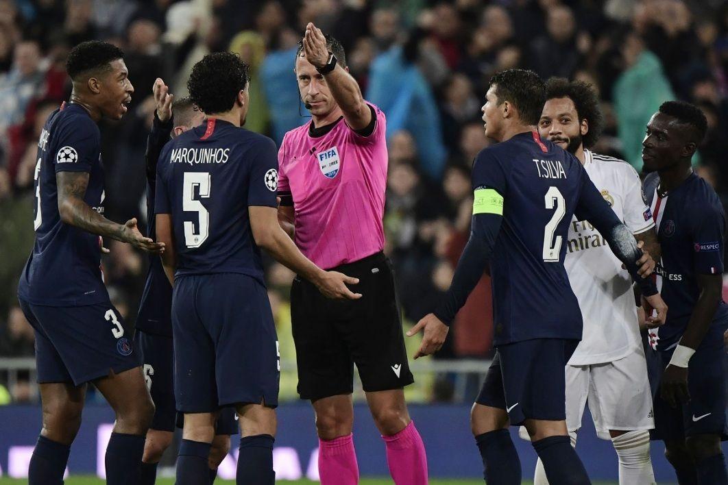 L'annulation litigieuse d'un penalty pour Paris et d'un