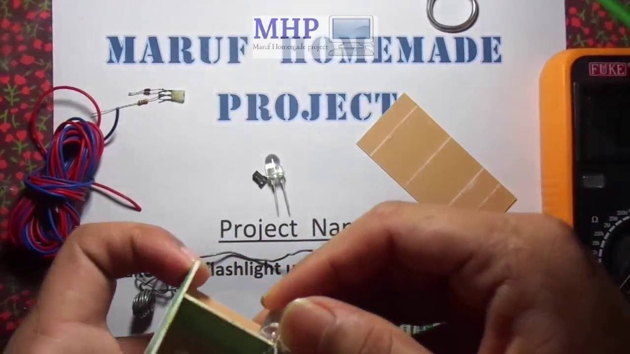 Homemade Led Torch Light Using Old Mobile Battery Electronic Tips Wwwhomemadeelectronicscom