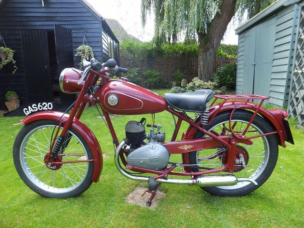 1953 James Cadet J5 125cc 2 Stroke Learner Legal Vintage Motorcycle United Kingdom Gumtree Motorcycle Vintage Motorcycle Classic Motorcycles