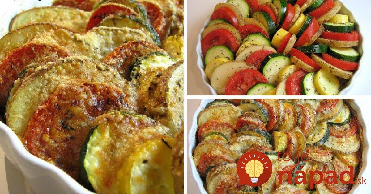Úžasne lahodná večera zo zeleniny, voňavých korenín a olivového oleja. Perfektná je aj sama o sebe, môžete ju tiež zvoliť ako vynikajúcu prílohu.