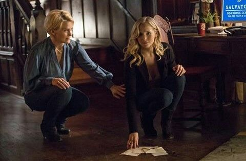 Imagen de the vampire diaries, caroline forbes, and tvd forever