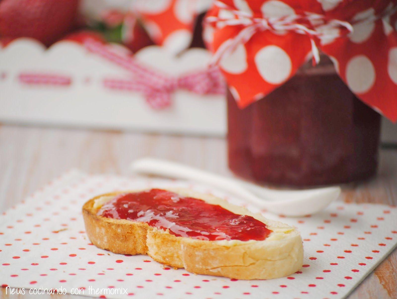 Neus cocinando con Thermomix: Mermelada de fresas