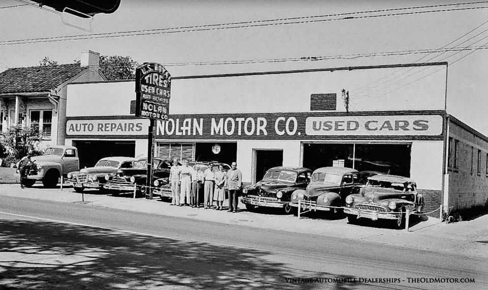 Automobile Dealerships from the Twenties through the Fifties   The ...