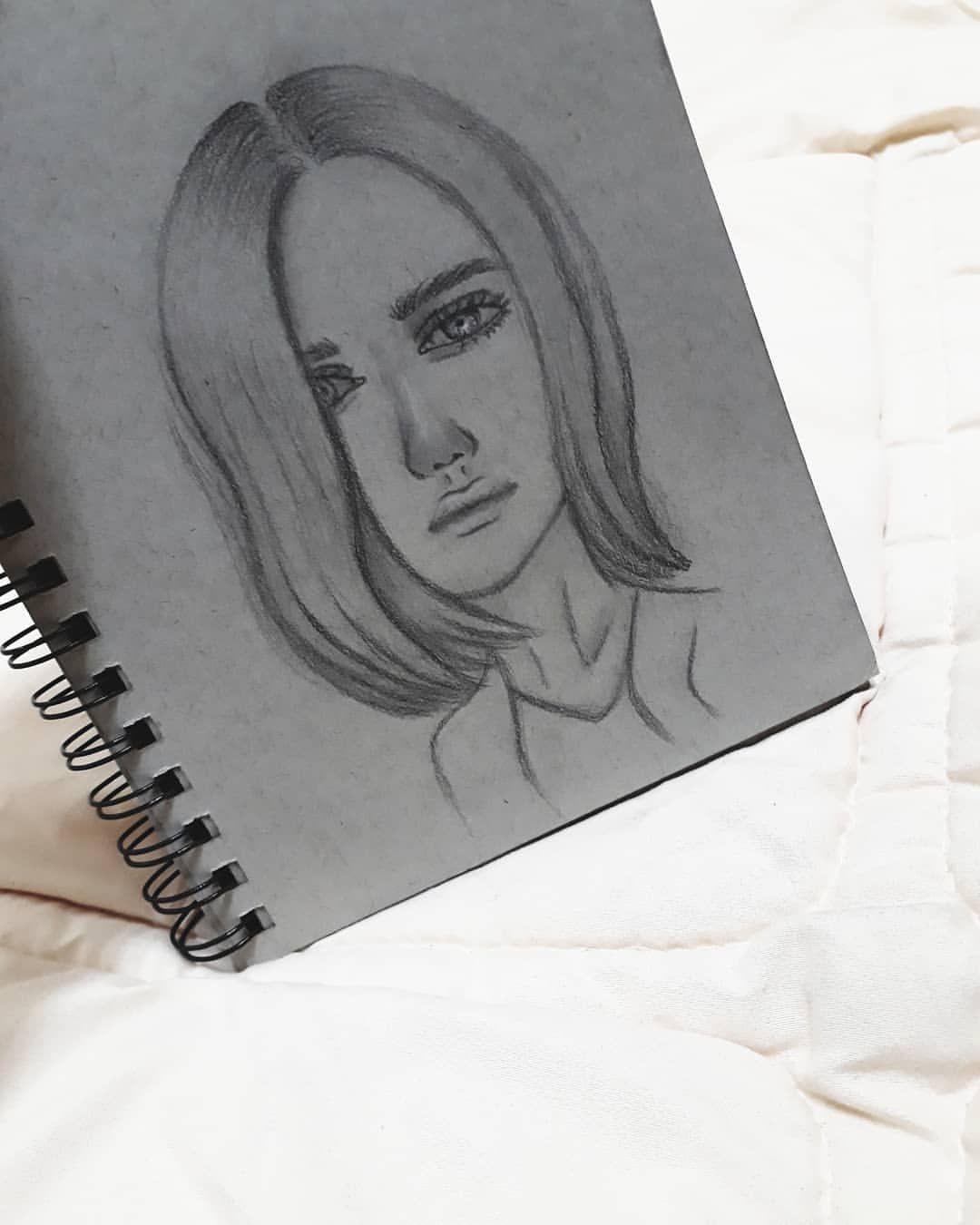 سلاما على لون الحزن في عيناك صارت حزينه Draw Drawings Drawing Art Artist Artists Face Sketchbooksketch رسمتي Female Sketch Art Female