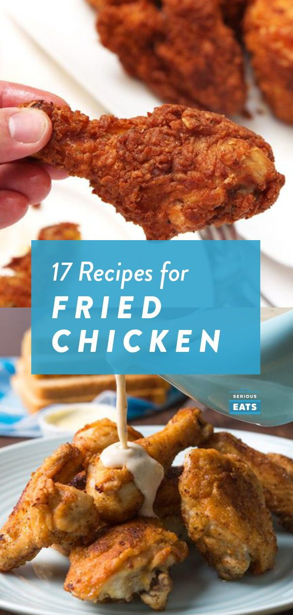 Photo of 17 Fried Chicken Recipes (Because One Is Not Enough)