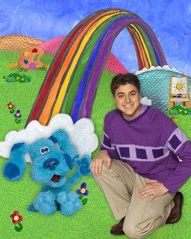 Joe And Blue Went To The Rainbow Blue S Clues Clue Movie Theme Park