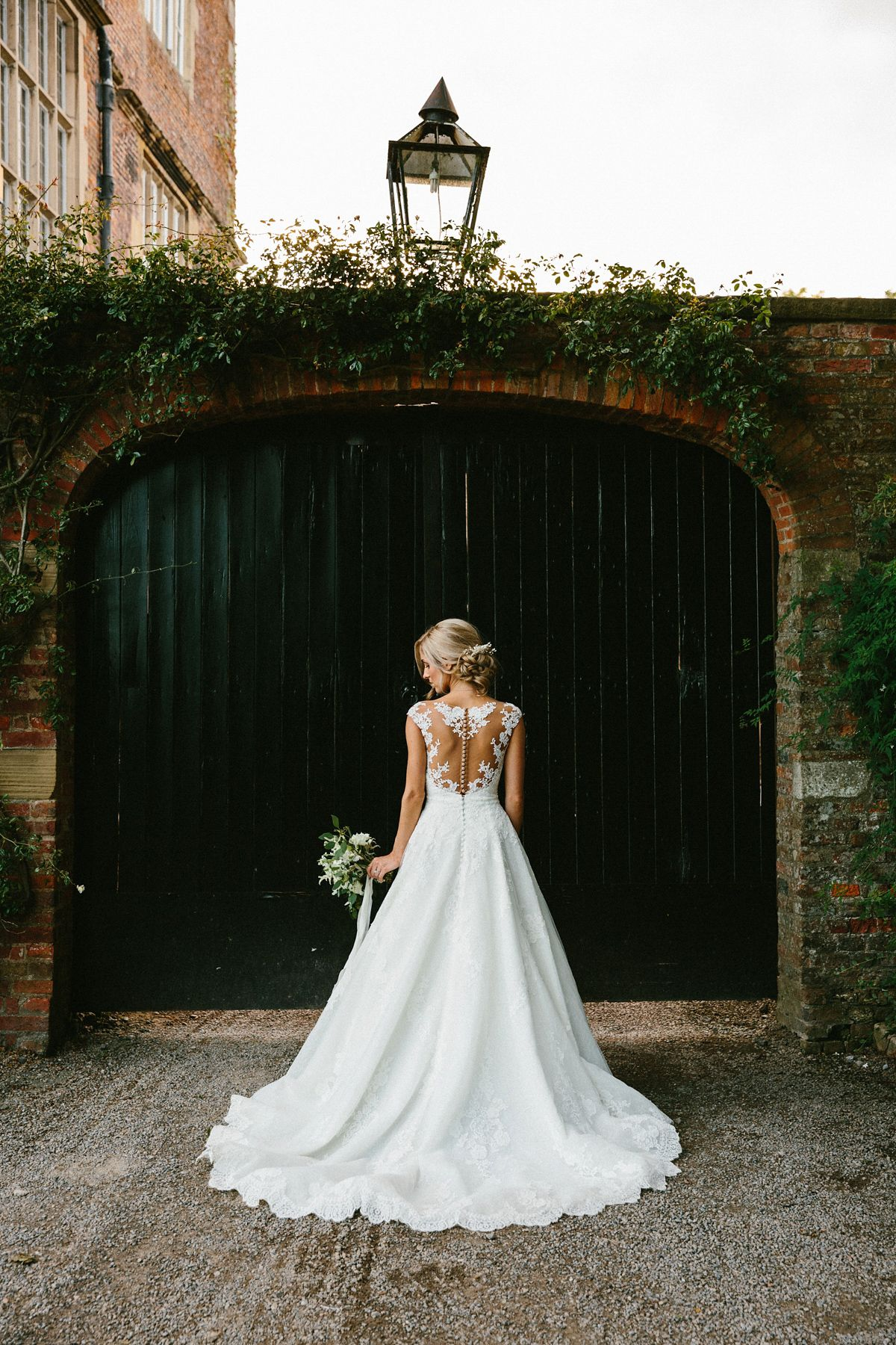 budget wedding venues north yorkshire%0A A Pronovias Gown for a Rustic Italian Wedding in North Yorkshire