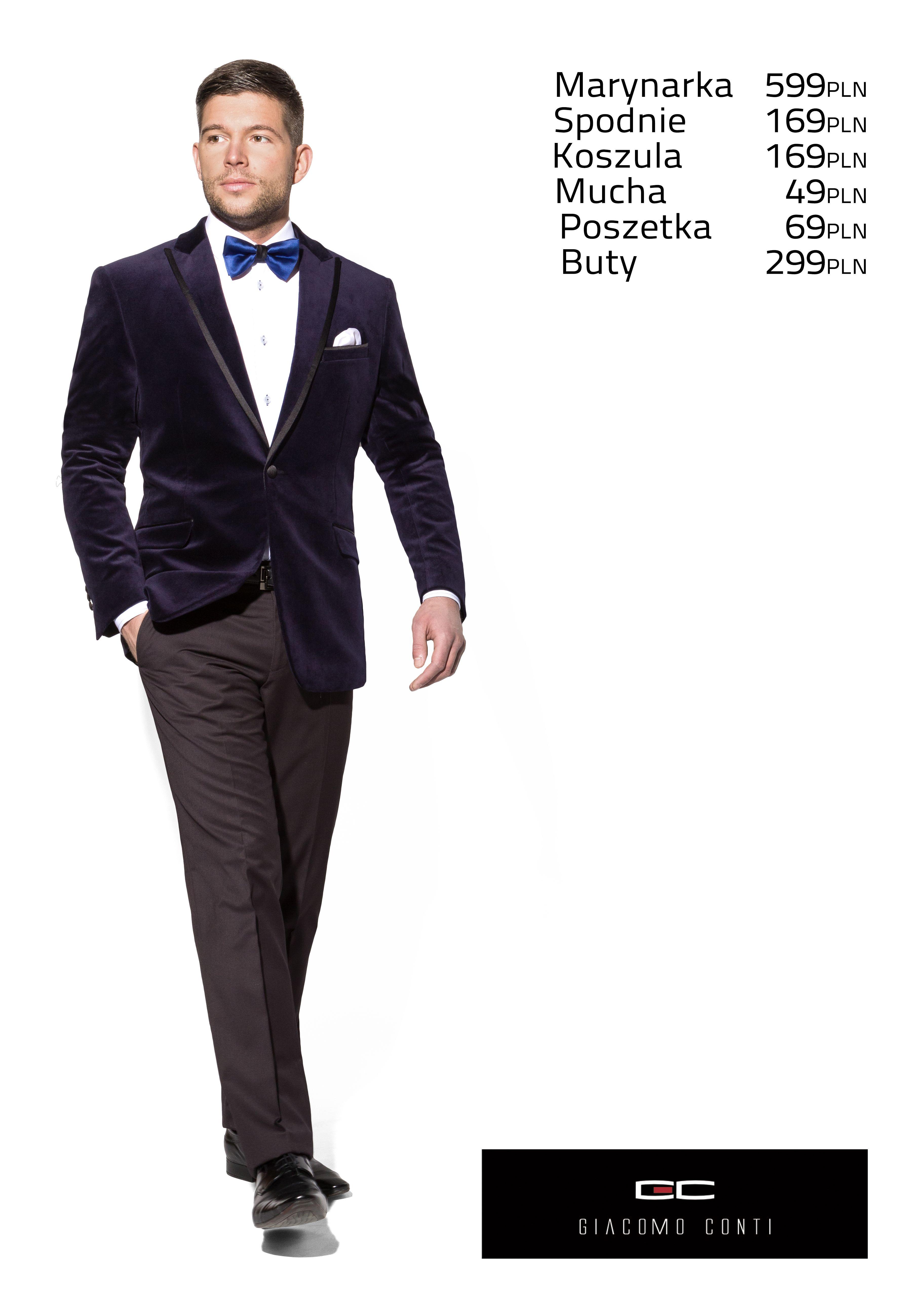 Stylizacja Giacomo Conti Na Karnawal Aksamitna Granatowa Marynarka Valerio E13 48b Biala Koszula Michele 13 08 08 Oraz Spodnie Fab Jackets Suit Jacket Suits