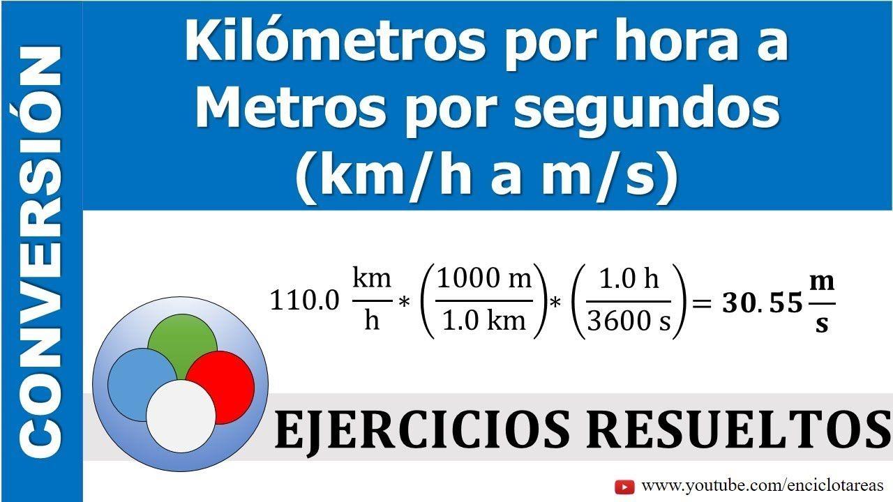 Kilómetros Por Hora A Metro Por Segundos Kmh A M S Parte 3 Youtube Youtube Conversion De Unidades Conversiones