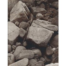 FOUR WORKS: SELECTED CLOSE-UP STUDIES OF ROCK FORMATIONS