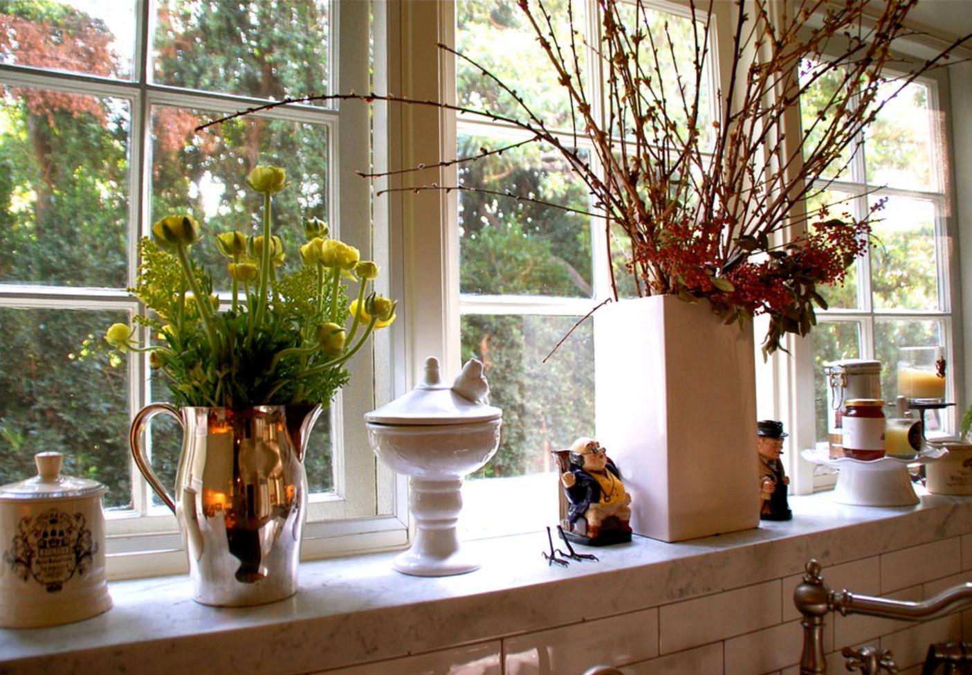 Die Marmor Fensterbänke haben eine lange Lebensdauer, diese müssen ...