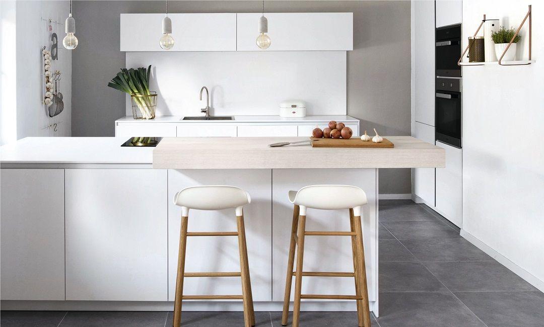 Küchentheke & Bar in 2020   Küchen design, Moderne küche ...
