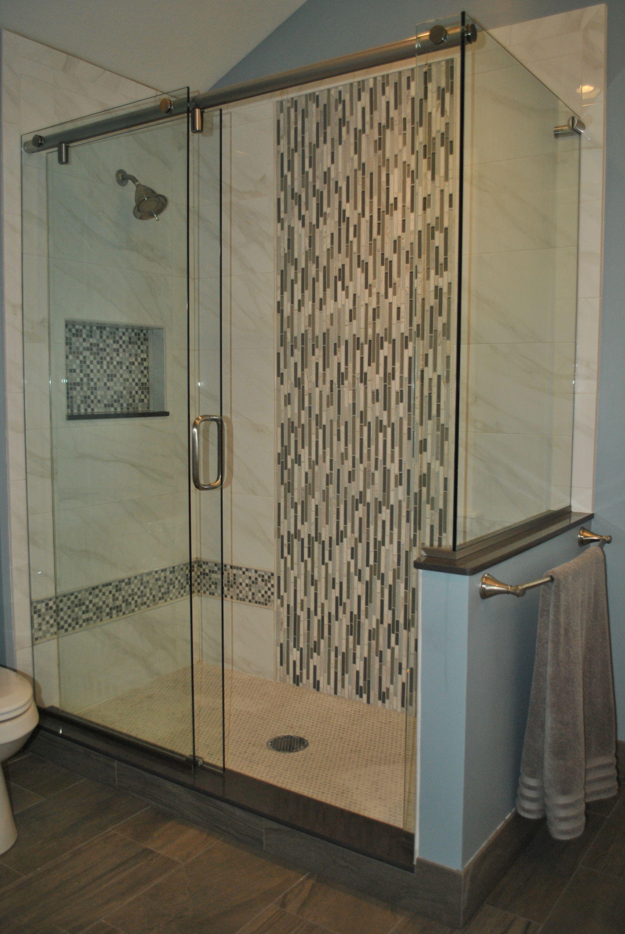 Dreamline Shdr 3234721 89 French Linea Toulon Frameless Shower Door 34 In X