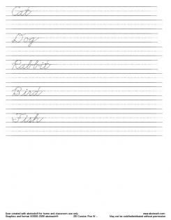 handwriting worksheet generator make your own with abctools kinder free handwriting. Black Bedroom Furniture Sets. Home Design Ideas
