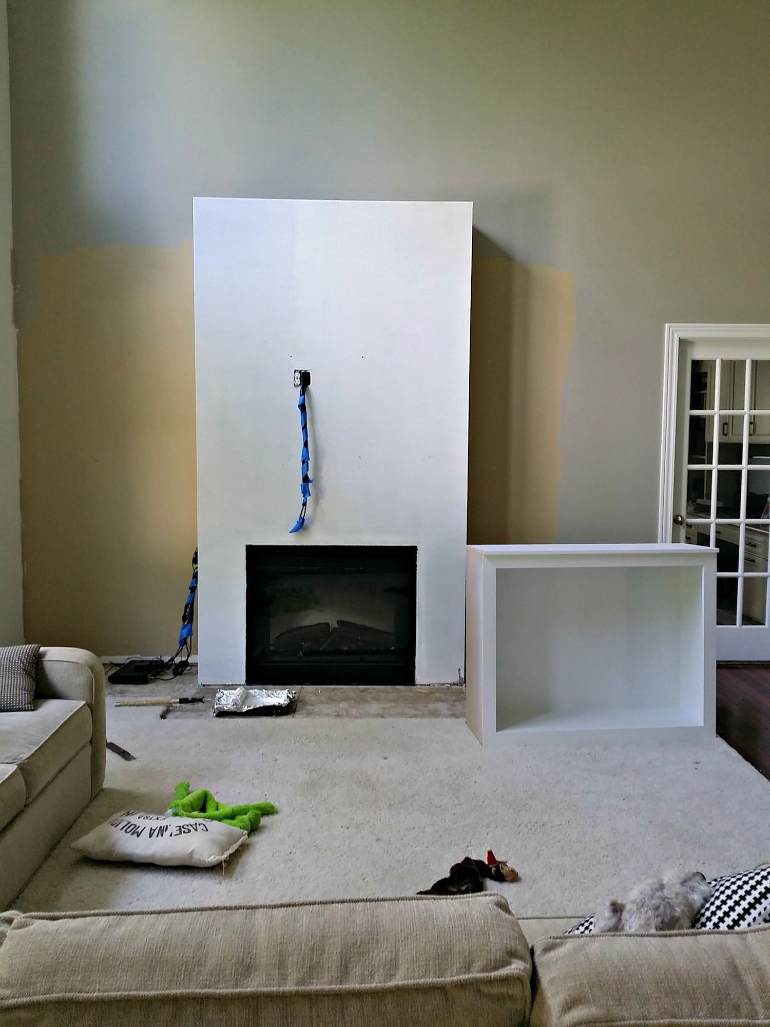 Living Room Built Ins Tutorial Cost Decor And The Dog Living Room Built Ins Built Ins Living Room Remodel