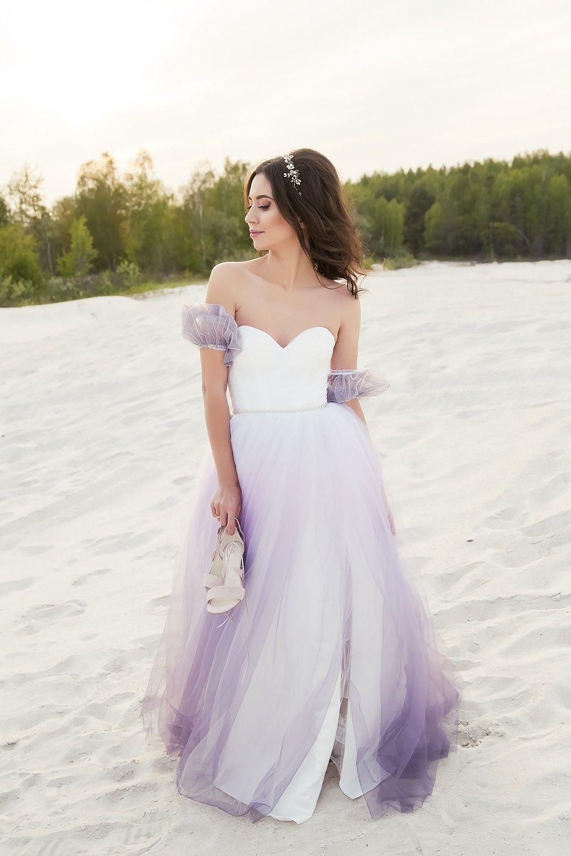 Carmen Ombre Wedding Gown Purple Wedding Gown Gowns Wedding Gowns [ 1500 x 1000 Pixel ]