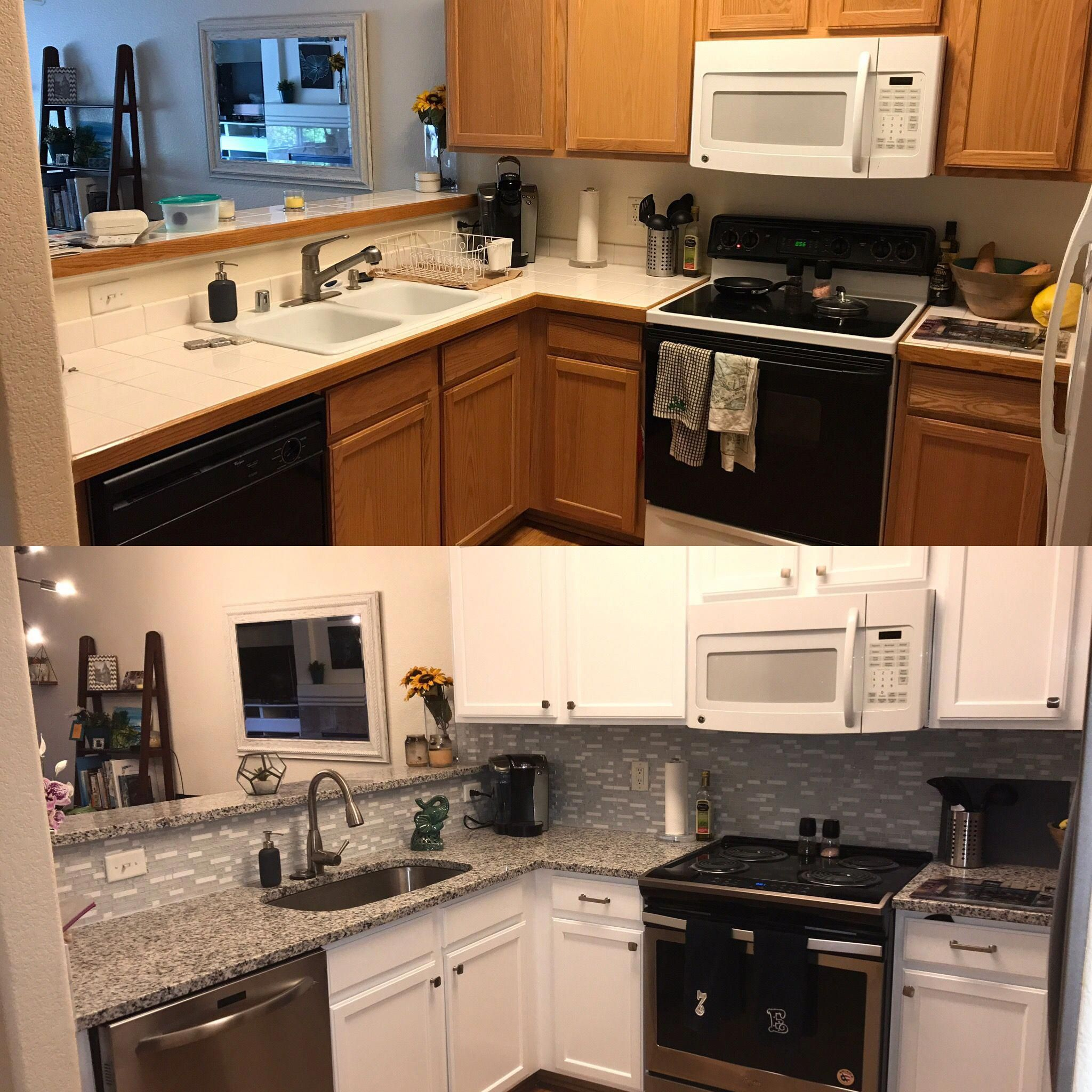 Our kitchen remodel before and after # ...
