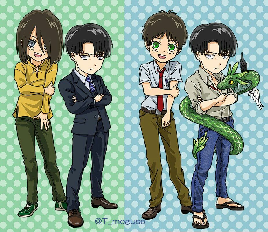 Attack On Titan, Levi