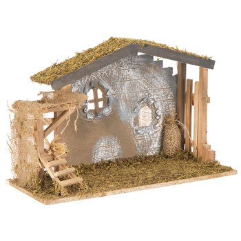 Mossy Brown Nativity Stable Large Hobby Lobby 5346481 In 2020 Nativity Stable Hobby Lobby Christmas Fun Christmas Decorations