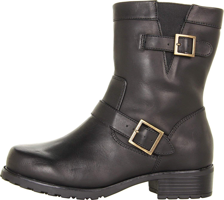 Softwalk Women's Bellville Boot,Black Lizard,6.5 W US