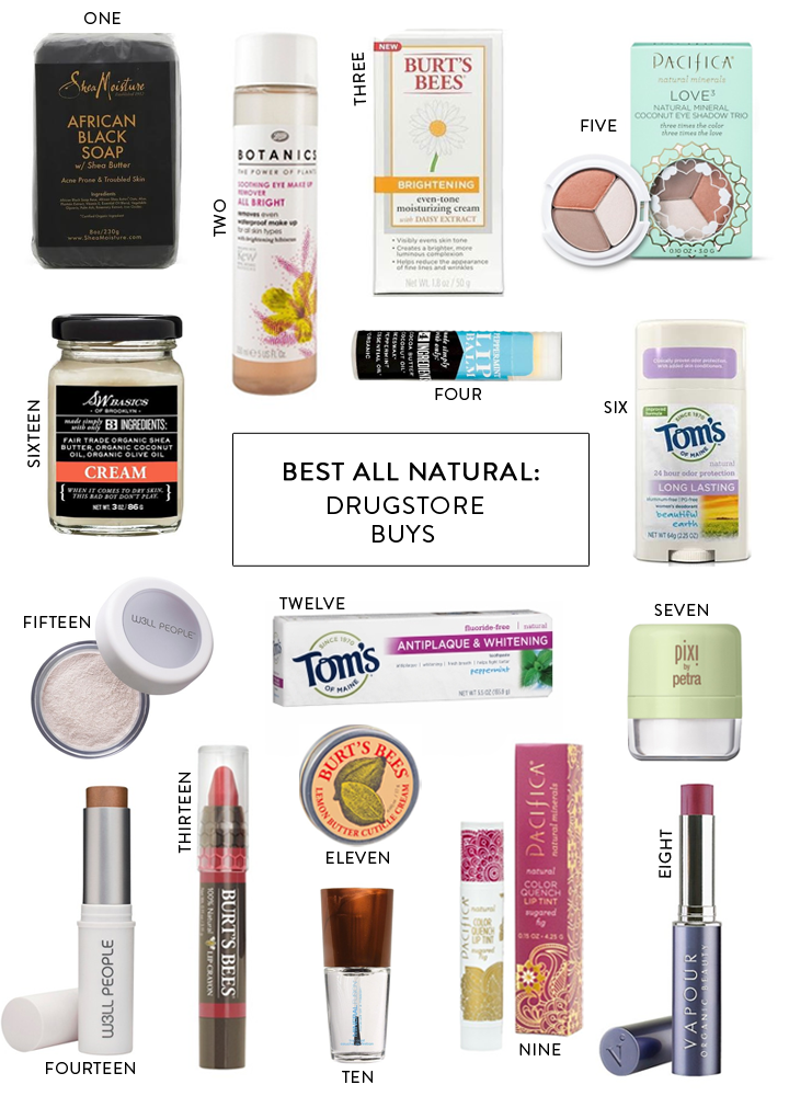 Drugstore Makeup Dupes: All Natural Drugstore Beauty Favorites