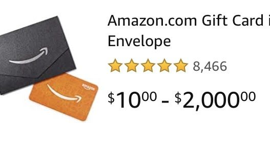 Photo of Right now Amazon is doing a promo for new gift card customers: get a $15 credit …