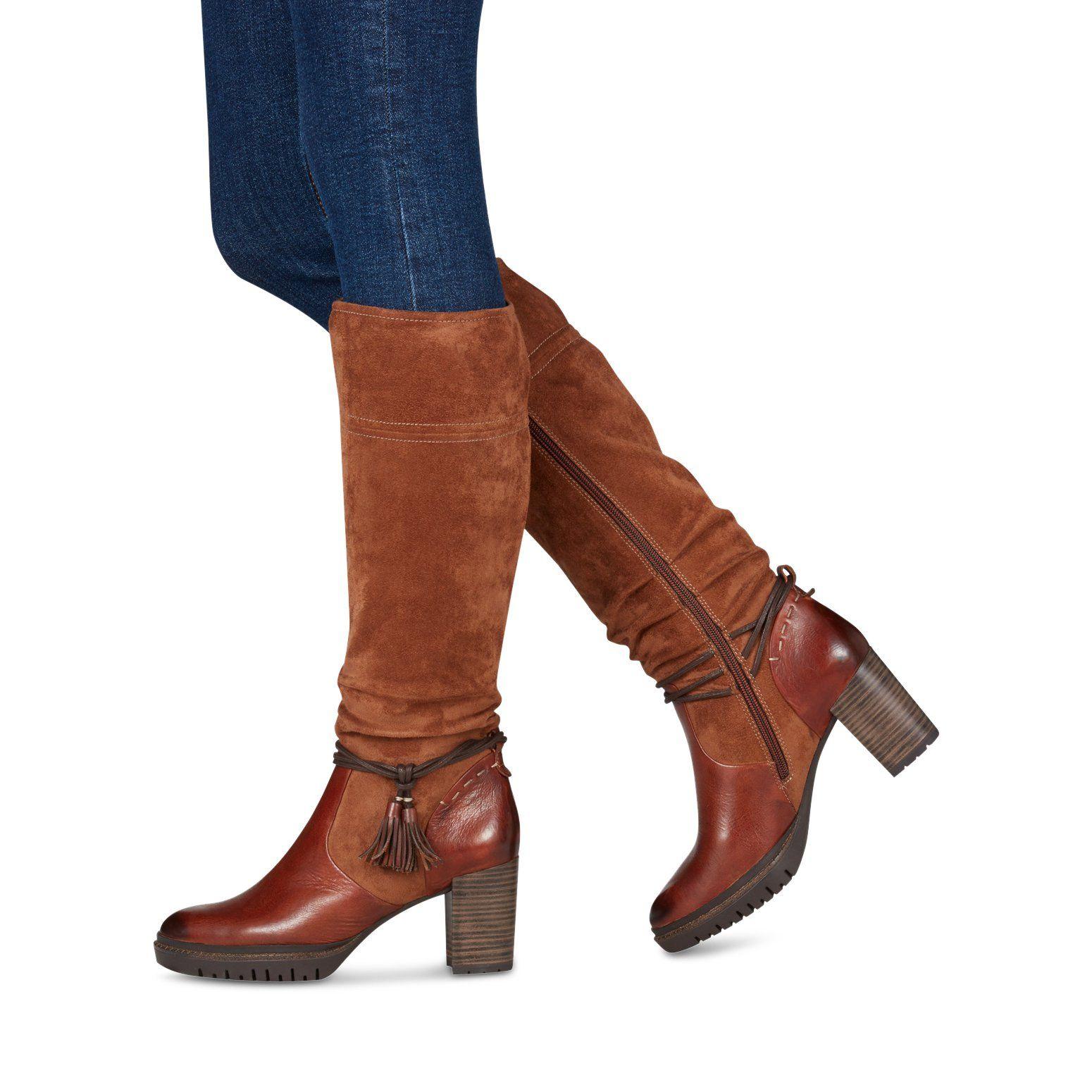 Peu coûteux Femme TAMARIS Chaussures Bottes Noir Style