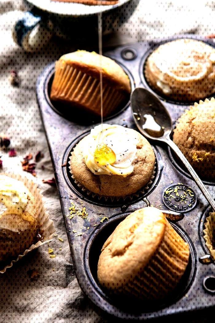 Vanilla Chai Lemon Ricotta Muffins |