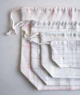 簡単な巾着袋| 裏編みソーホー - 作成