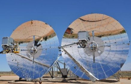 New Solar Stirling Dish Efficiency Record Of 32 Set