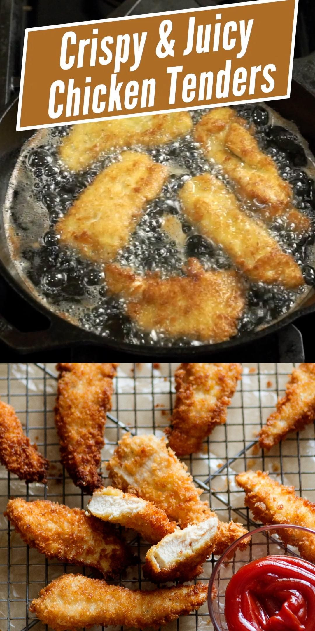 Fried Chicken Tenders Chicken Strips Recipe Best Recipe Box Video Recipe Video In 2020 Chicken Tenderloin Recipes Homemade Chicken Tenders Recipe Homemade Chicken Tenders
