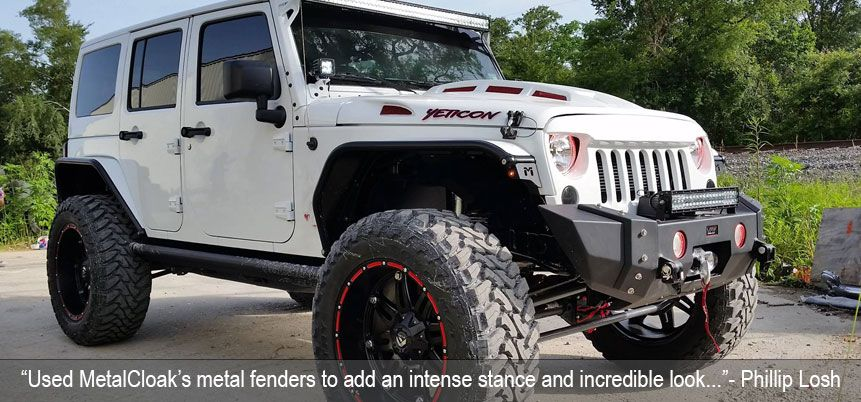 Phillip Losh Jeep Jk Jeep Fenders Jeep