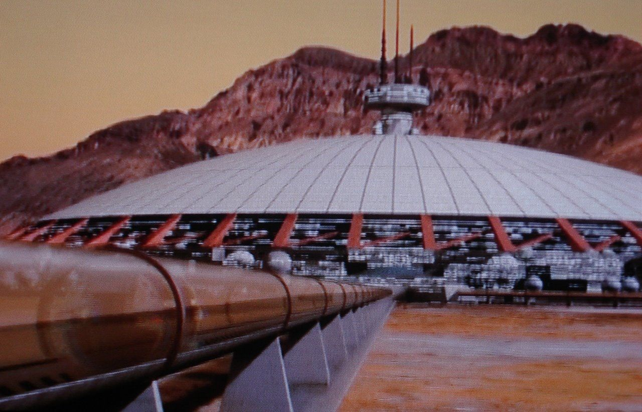 mars colony (videostill) | Sci fi environment, Space ...