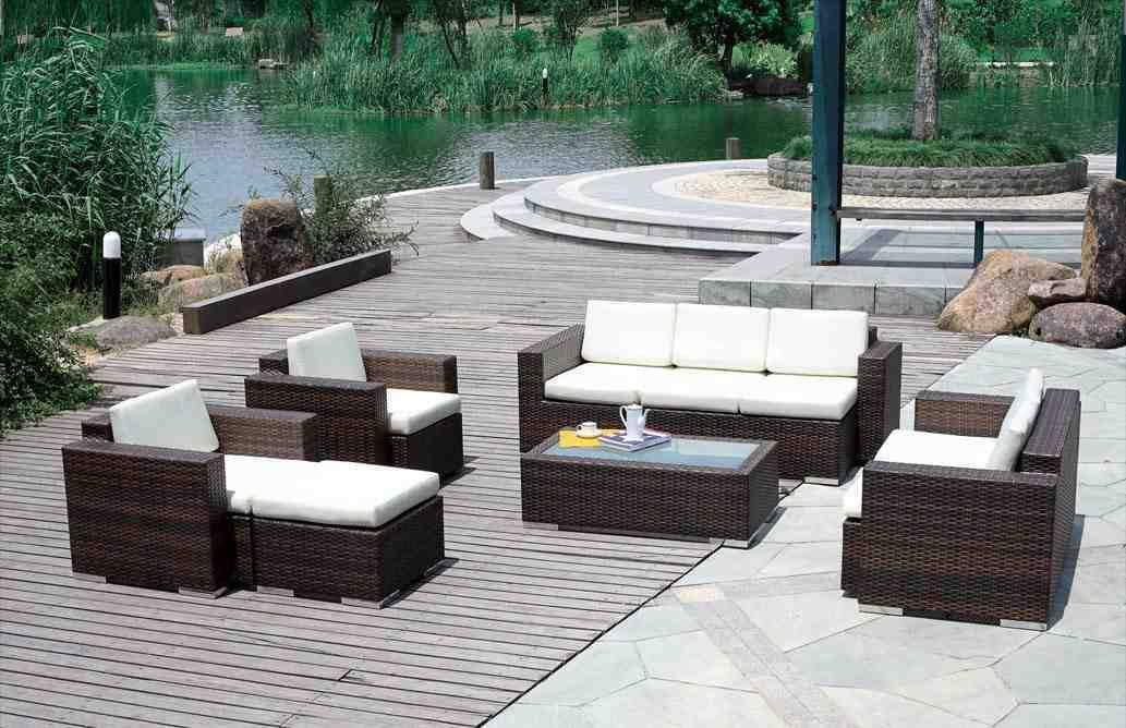 Outdoor Wicker Patio Furniture Clearance With Images Outdoor
