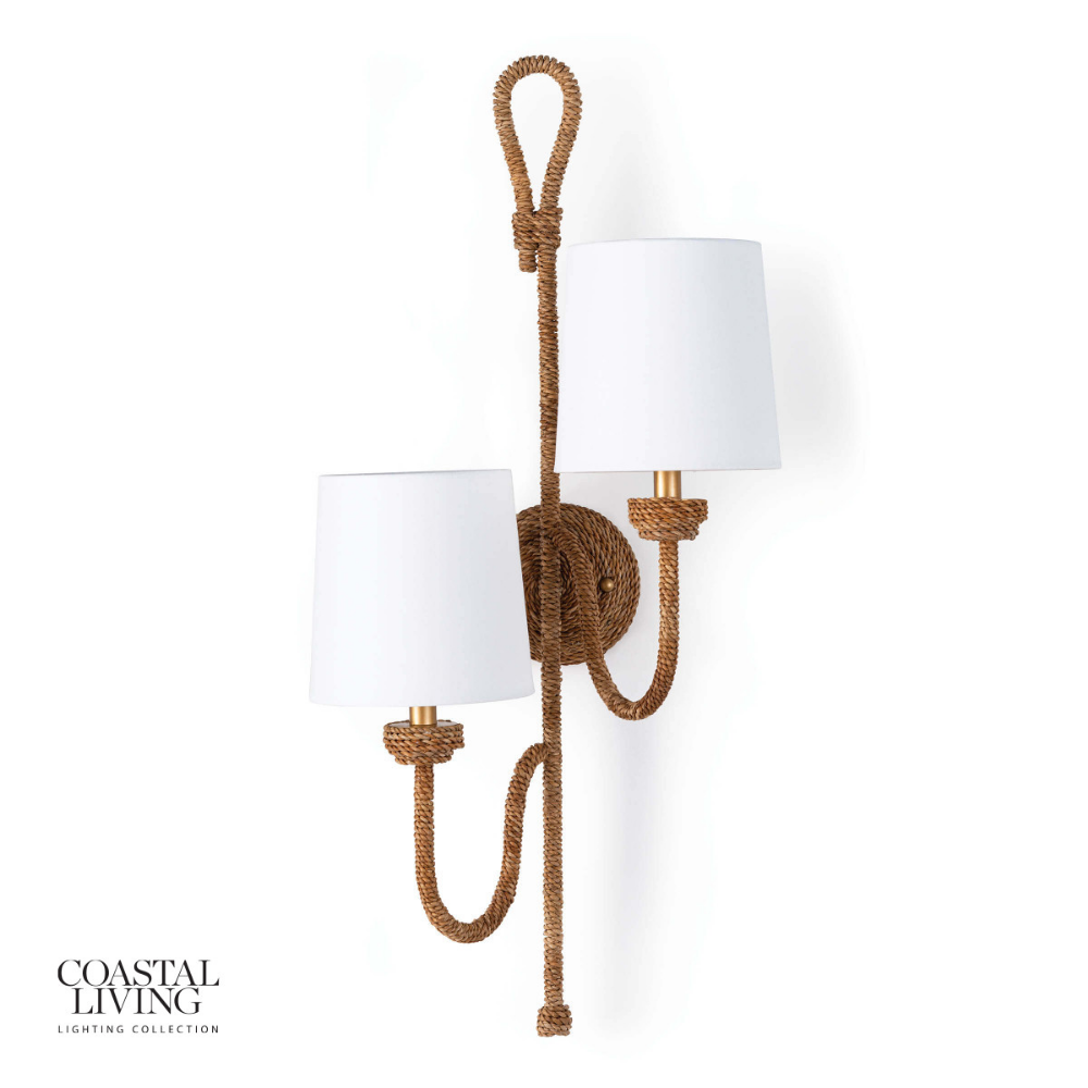 Bimini Sconce Coastal Living In 2020 Sconces Double Wall Sconce Wall Sconces