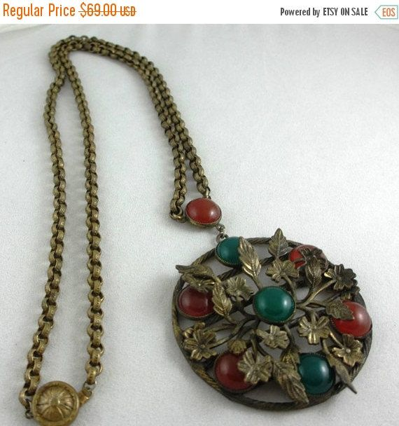 Summer Sale Art Deco Period Jewelry: Large by PastAccoutrementals