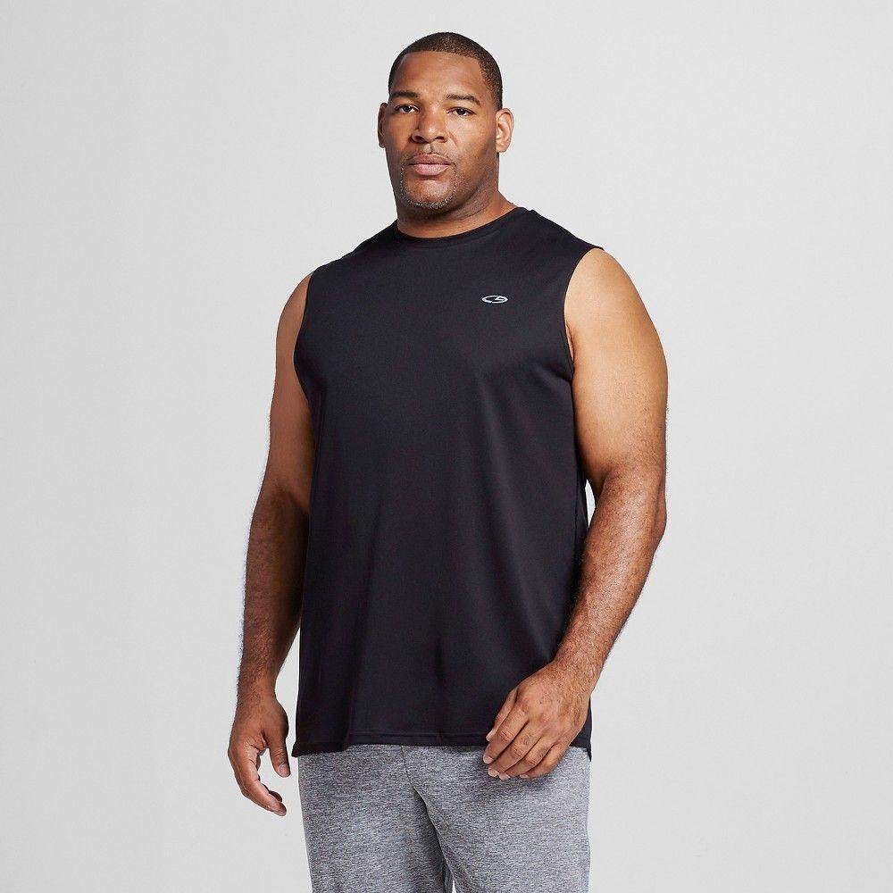 8c30951db Men's Big & Tall Tech Sleeveless Shirt - C9 Champion Black 3XL, Size: Xxxl