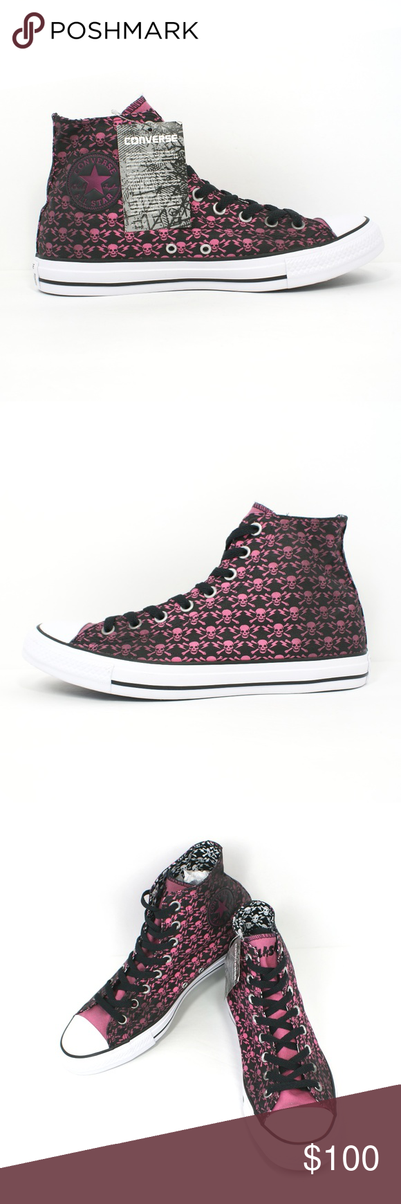 f0fb7834dcaa Converse x The Clash Chuck Taylor All Star Skulls 100% Authentic - New -  Without